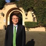 イタリア大使公邸にて